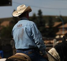 Cochrane Lions Rodeo #14, 2009, Canada. by Felicity McLeod