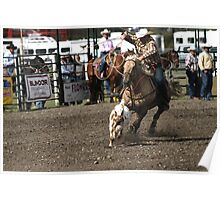 Cochrane Lions Rodeo #16, 2009, Canada. Poster