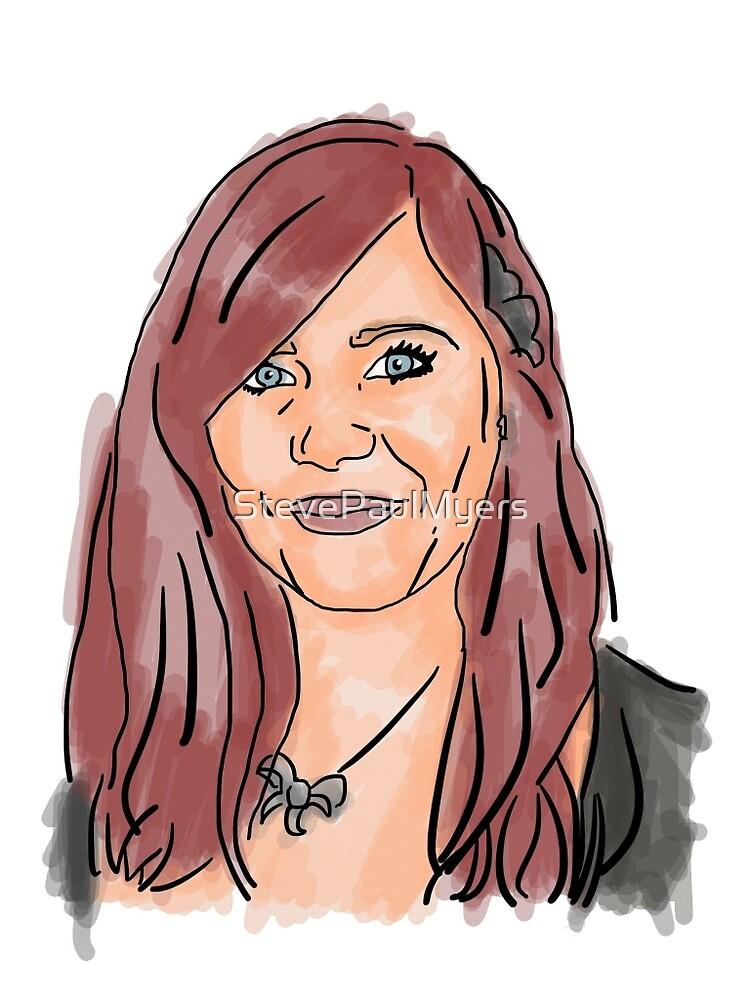 Andrea Mullen Illustration by StevePaulMyers - flat,1000x1000,075,f.u3