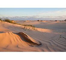 Sand sculpture Photographic Print