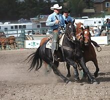 Cochrane Lions Rodeo #18, 2009, Canada. by Felicity McLeod