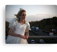runaway bride 01 Canvas Print