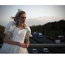 runaway bride 01 Photographic Print