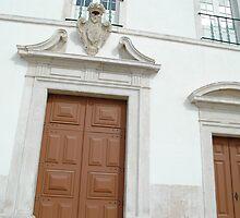 Church door by fonsecanuno