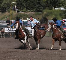 Cochrane Lions Rodeo #22, 2009, Canada. by Felicity McLeod