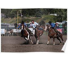 Cochrane Lions Rodeo #22, 2009, Canada. Poster