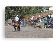 Cochrane Lions Rodeo #24, 2009, Canada. Canvas Print