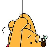 Winnie the Pooh on Balloon by emjorgenson