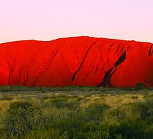 ULURU (AYERS ROCK) by ANDREW CARMAN