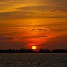 Sunset over Sarasota Bay by deahna