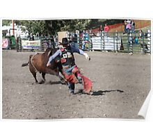 Cochrane Lions Rodeo #27, 2009, Canada. Poster