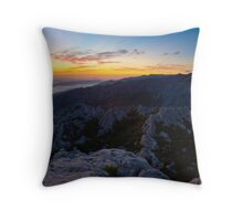 The night is taking over IV Throw Pillow
