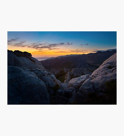 The night is taking over V Photographic Print