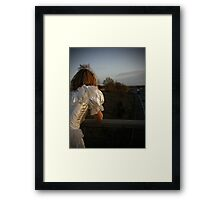 I Was Born to Walk Alone 03 Framed Print