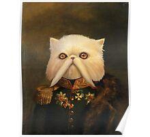 Persian Cat Emperor Poster
