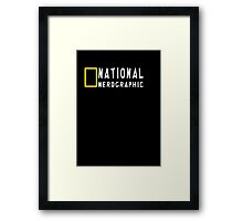 National Nerdgraphic (1) Framed Print