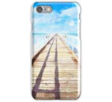 Meet me at the pier iPhone Case/Skin