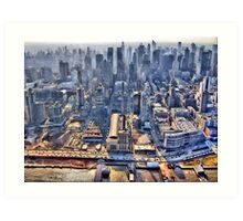 Early Morning Over New York City Art Print