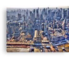 Early Morning Over New York City Canvas Print