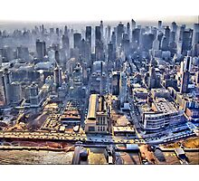 Early Morning Over New York City Photographic Print