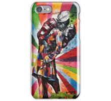 Iconic Kiss - Pop of Color iPhone Case/Skin