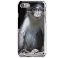 ..monkey business..a cute baby  iPhone Case/Skin