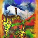 Cloudy Landscape Colors by gina1881996