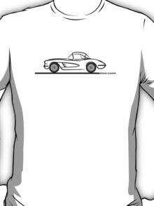 1958 Corvette Hardtop T-Shirt