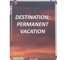 """Permanent Vacation"" 5SOS Inspired Design iPad Case/Skin"