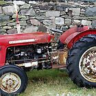 Jim's Auld Tractor by Charles  Staig