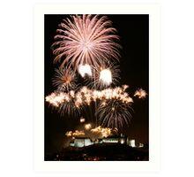Fireworks Show Art Print