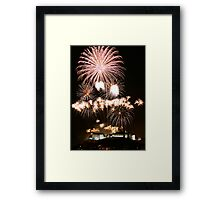 Fireworks Show Framed Print