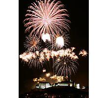 Fireworks Show Photographic Print
