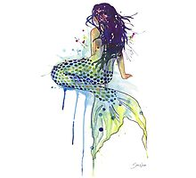 Mermaid Photographic Print