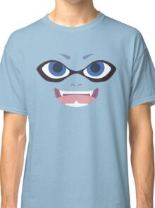 Inkling Face (blue) Classic T-Shirt