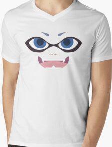 Inkling Face (blue) Mens V-Neck T-Shirt