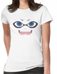 Inkling Face (blue) Womens Fitted T-Shirt