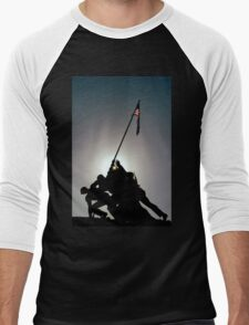 ~Iwo Jima Memorial~ Men's Baseball ¾ T-Shirt