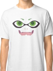 Inkling Face (green) Classic T-Shirt