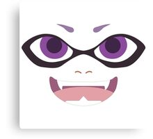 Inkling Face (purple) Canvas Print