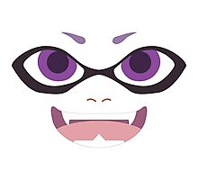 Inkling Face (purple) Photographic Print