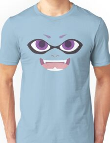 Inkling Face (purple) Unisex T-Shirt
