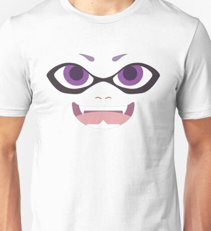 Inkling Face (purple) Unisex T-Shirt