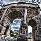 Arch of Septimius Severus by andreisky