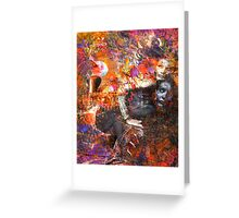 Hermit Series... INsIdE the Cave~Anything is Possible Greeting Card