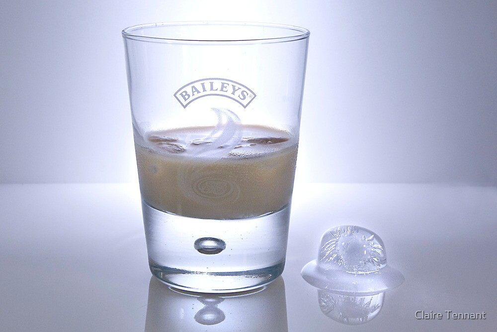 Baileys and Ice by Claire Tennant