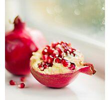 Powerful pomegranate Photographic Print