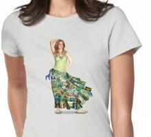Papillon Shirt Womens Fitted T-Shirt