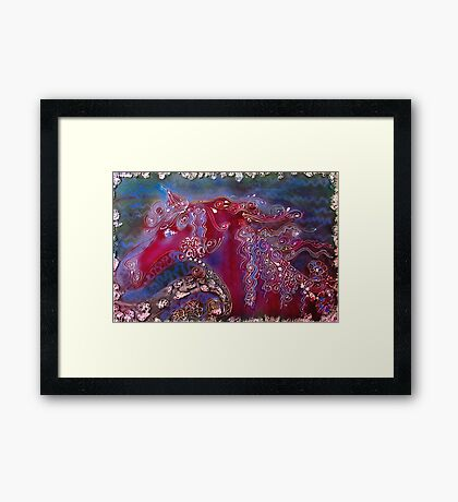 Water Horse Framed Print