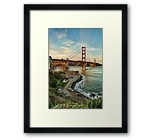 The Way to Marin Framed Print
